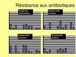 r sistance aux antibiotiques