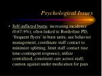 psychological issues16