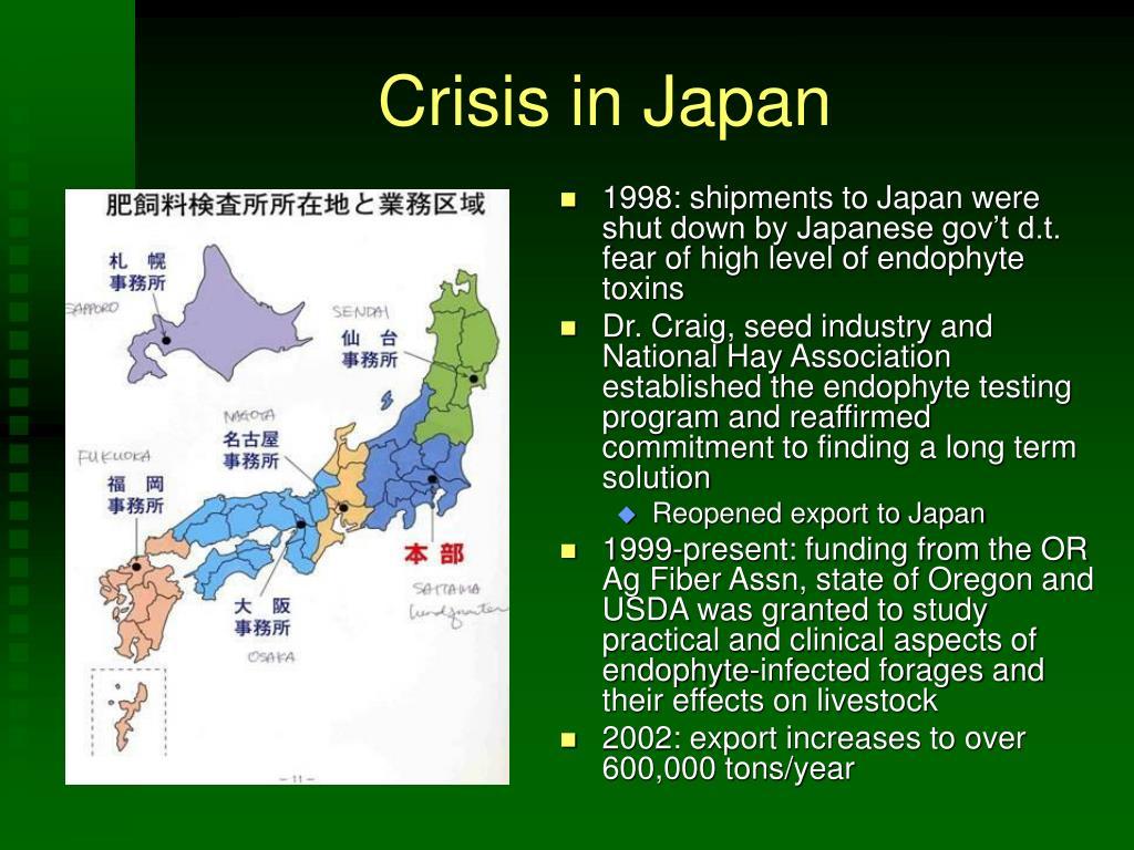 Crisis in Japan