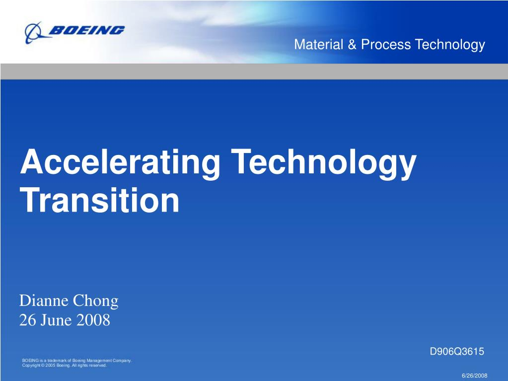 Material & Process Technology