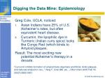 digging the data mine epidemiology