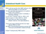 globalized health care