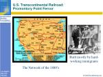 u s transcontinental railroad promontory point fervor