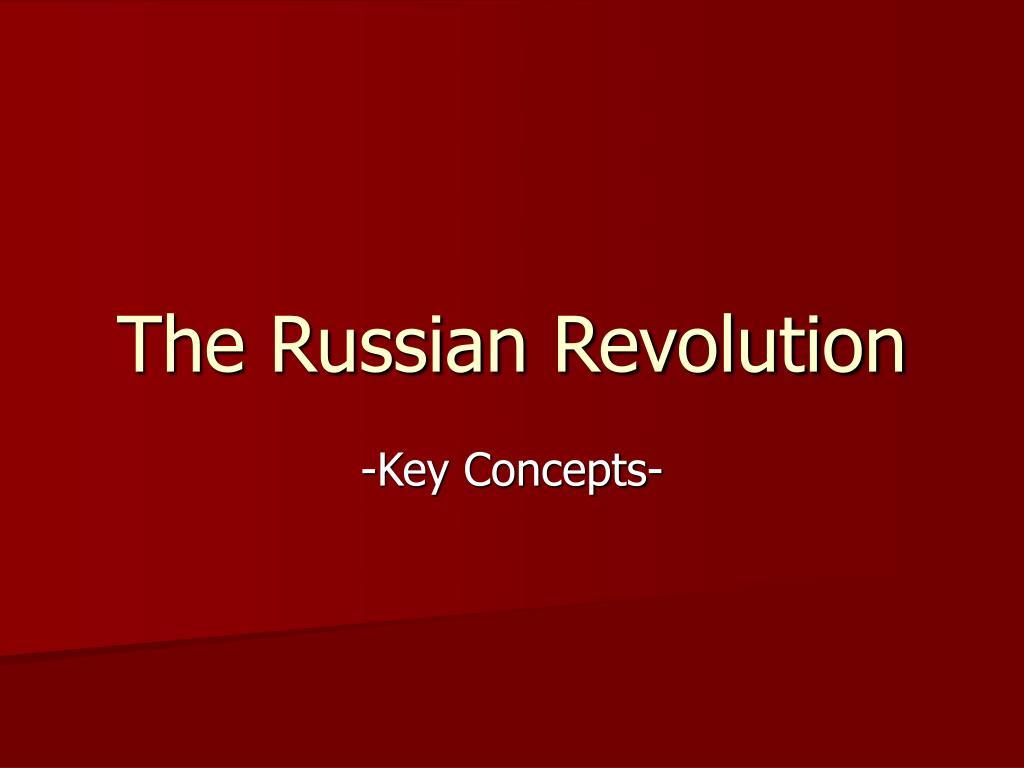 the russian revolution l.
