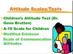 attitude scales tests16