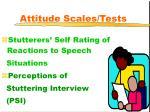 attitude scales tests17
