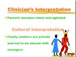 clinician s interpretation40
