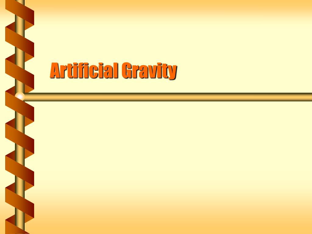artificial gravity l.