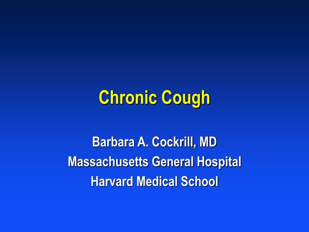 chronic cough l.