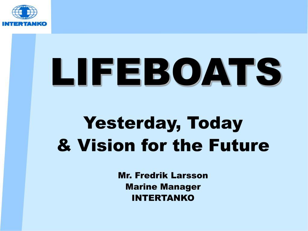 lifeboats l.