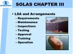 solas chapter iii