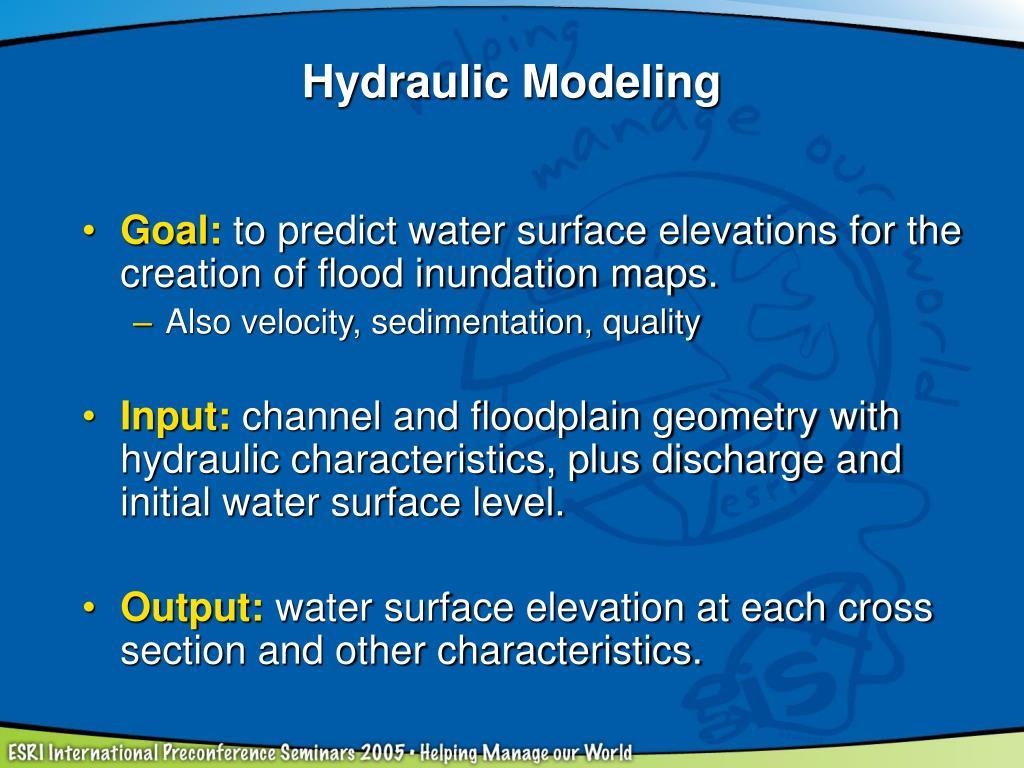 Hydraulic Modeling