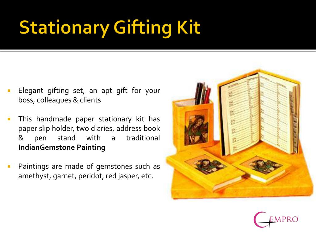 Stationary Gifting Kit