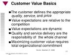 customer value basics