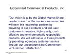 rubbermaid commercial products inc