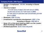 company profile 2006 figures