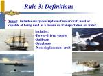 rule 3 definitions