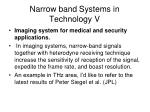 narrow band systems in technology v