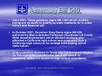 assembly bill 540