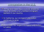 immigration in the u s