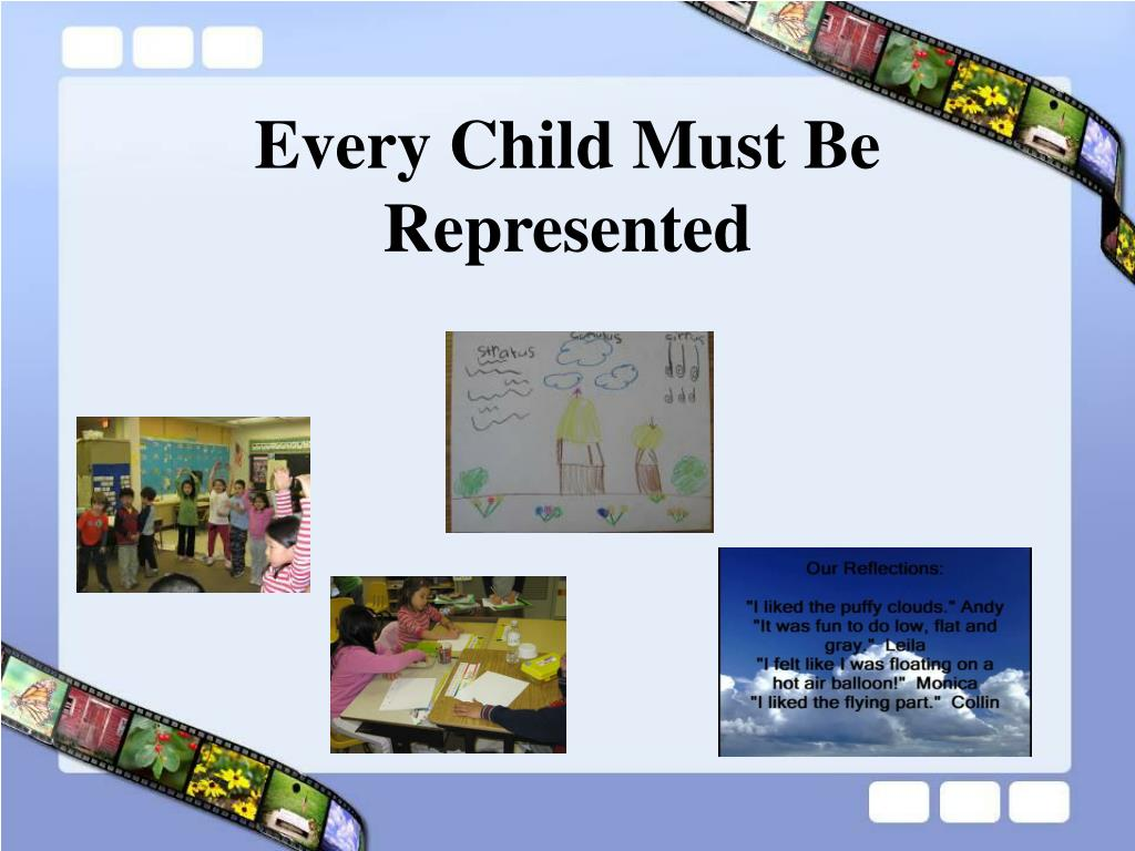 Every Child Must Be Represented