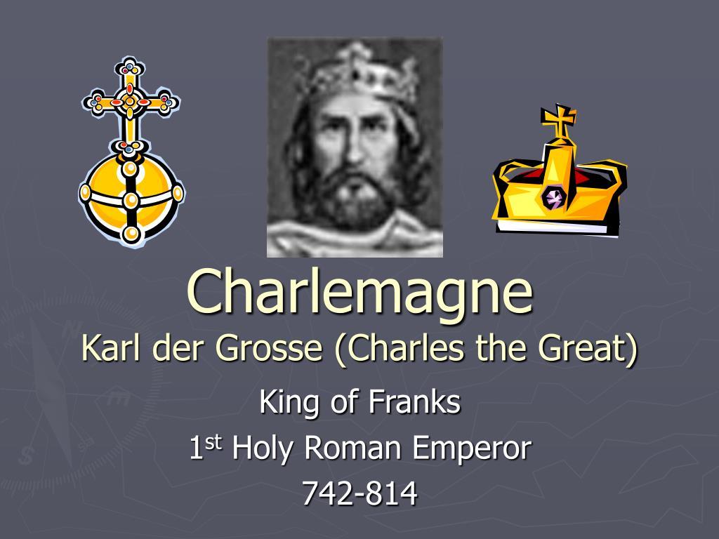 charlemagne karl der grosse charles the great l.