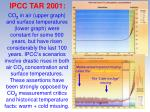ipcc tar 2001