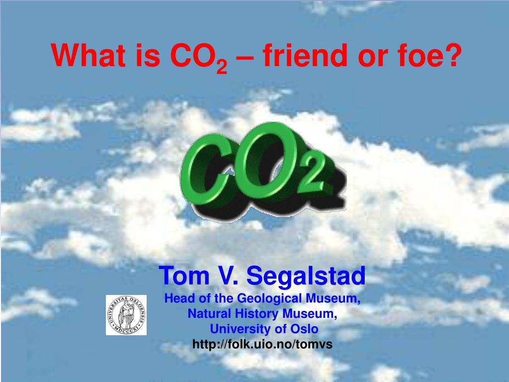 what is co 2 friend or foe l.