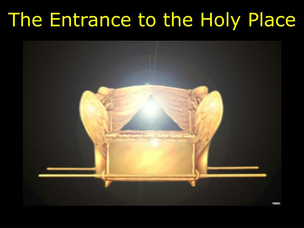 the entrance to the holy place l.