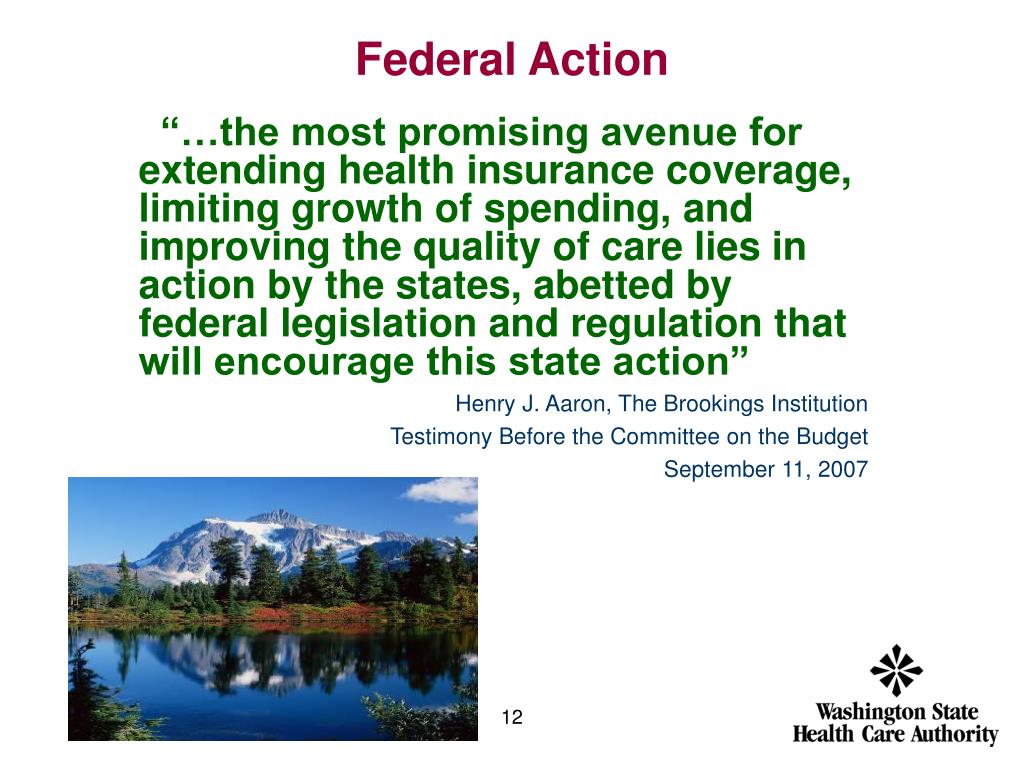 Federal Action