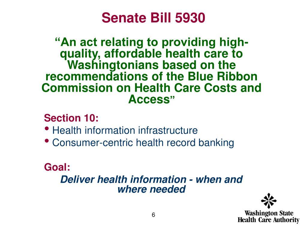 Senate Bill 5930