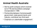 animal health australia