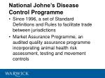 national johne s disease control programme