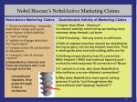 nobel biocare s nobelactive marketing claims