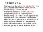 10 spm bv 3