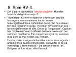 5 spm bv 3