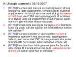 a utvalgte sp rsm l 09 10 2007