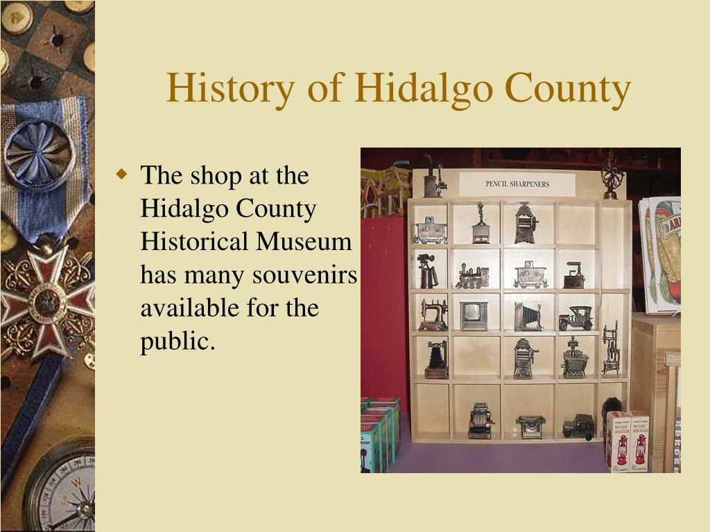 history of hidalgo county l.