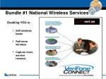 bundle 1 national wireless services