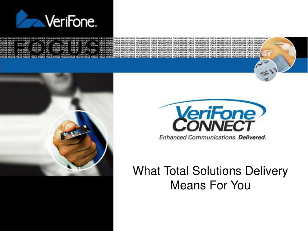 verifone connect l.