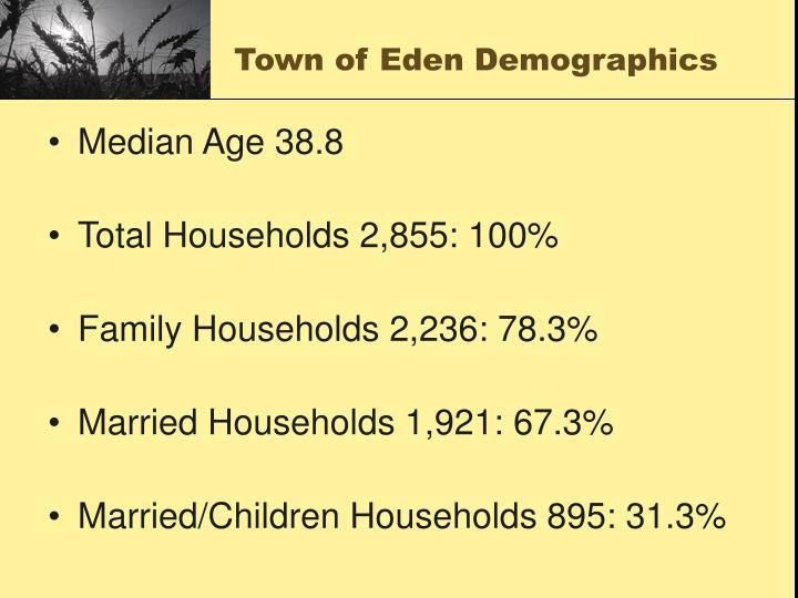 Town of eden demographics3