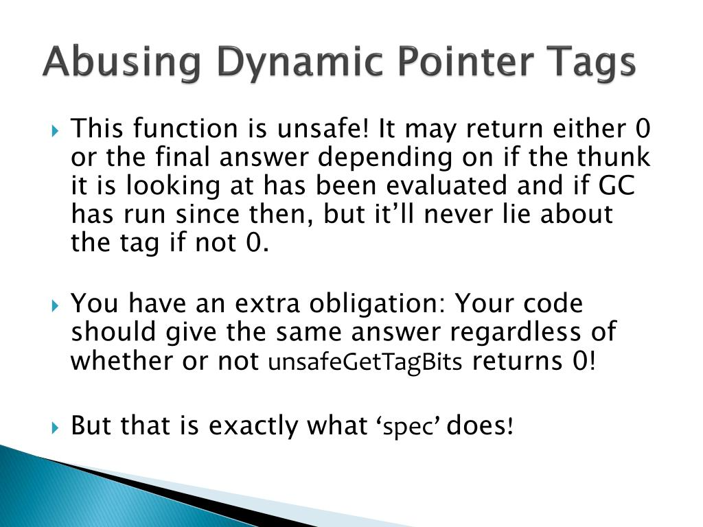 Abusing Dynamic Pointer Tags