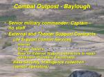combat outpost baylough