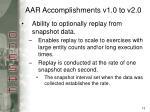 aar accomplishments v1 0 to v2 012