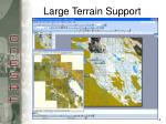 large terrain support