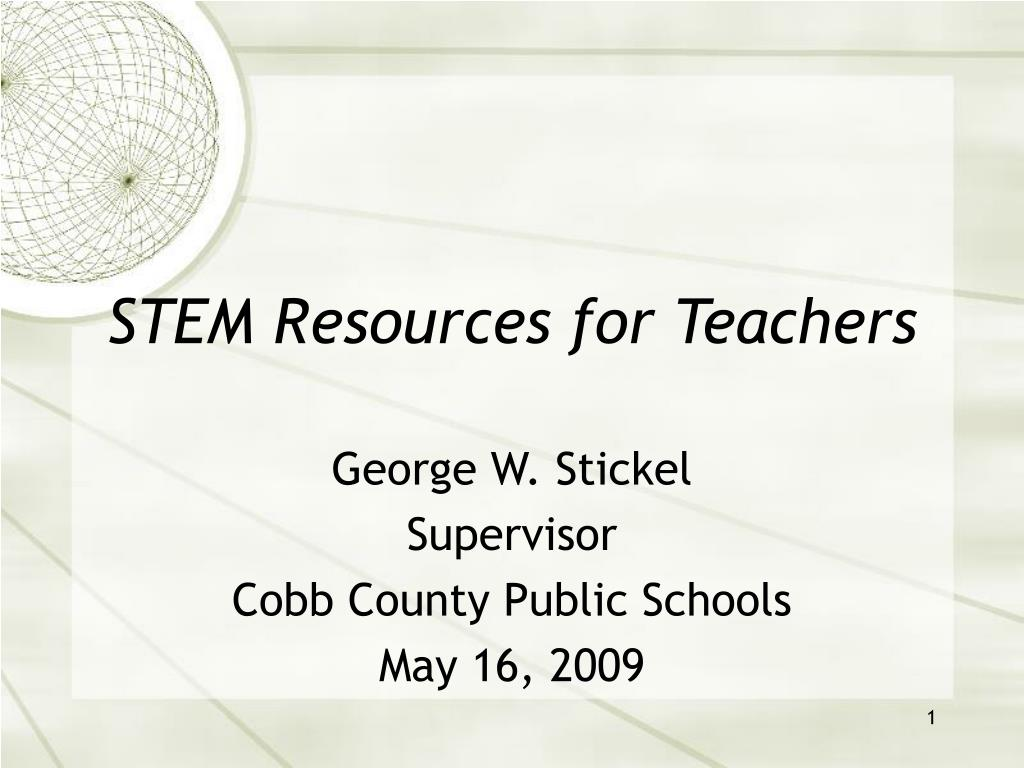 stem resources for teachers l.