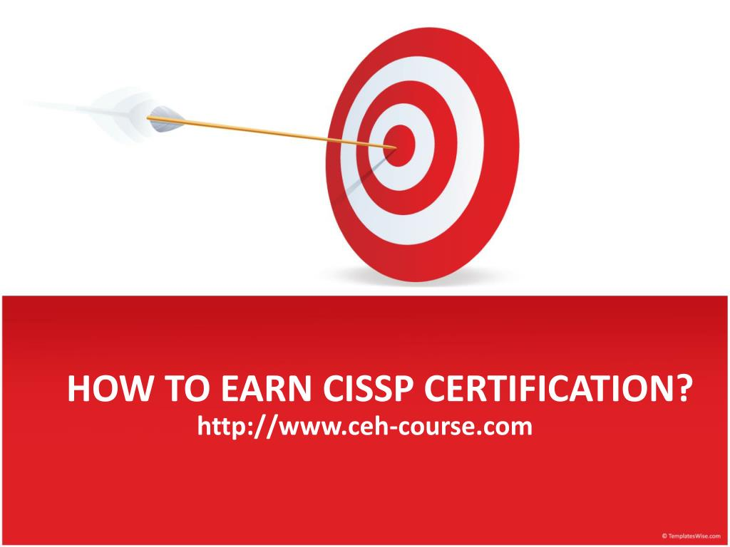 how to earn cissp certification l.