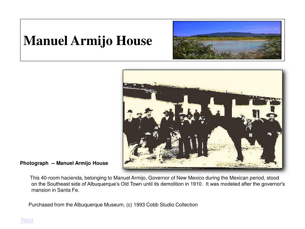 Manuel Armijo House