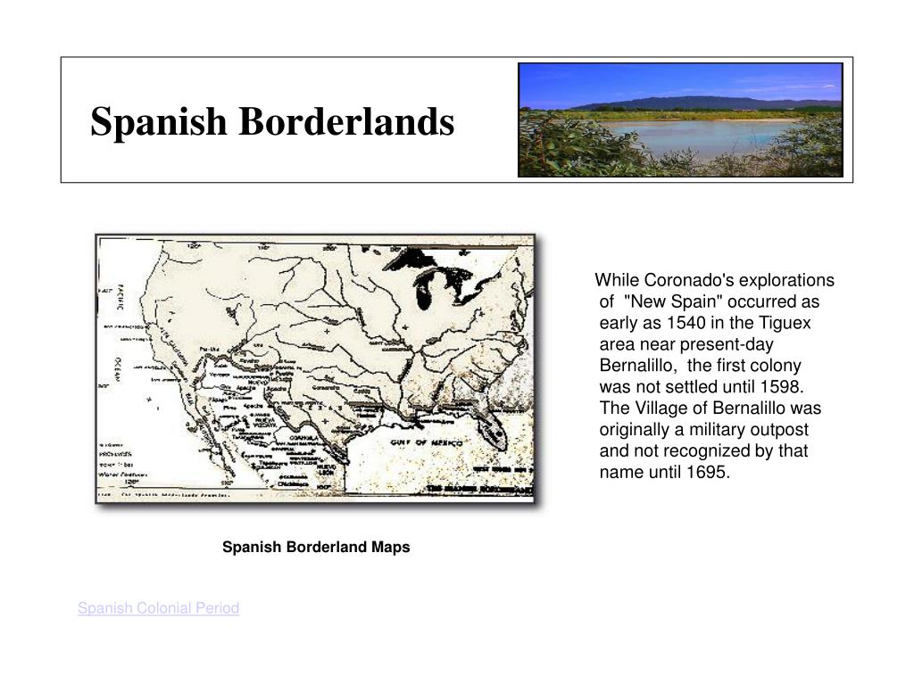 Spanish Borderland Maps