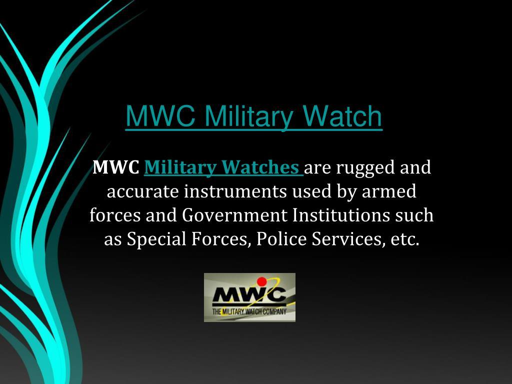 mwc military watch l.